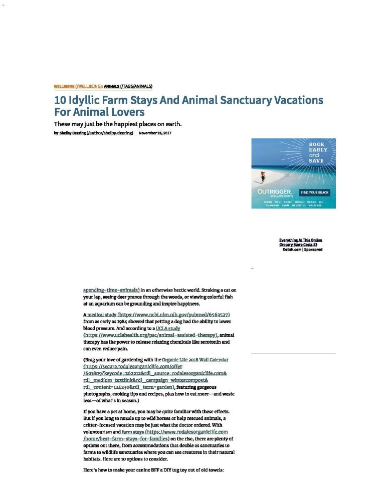 10 Idyllic Farm Stays And Animal Sanctuary Vacations For Animal Lovers full-page-001