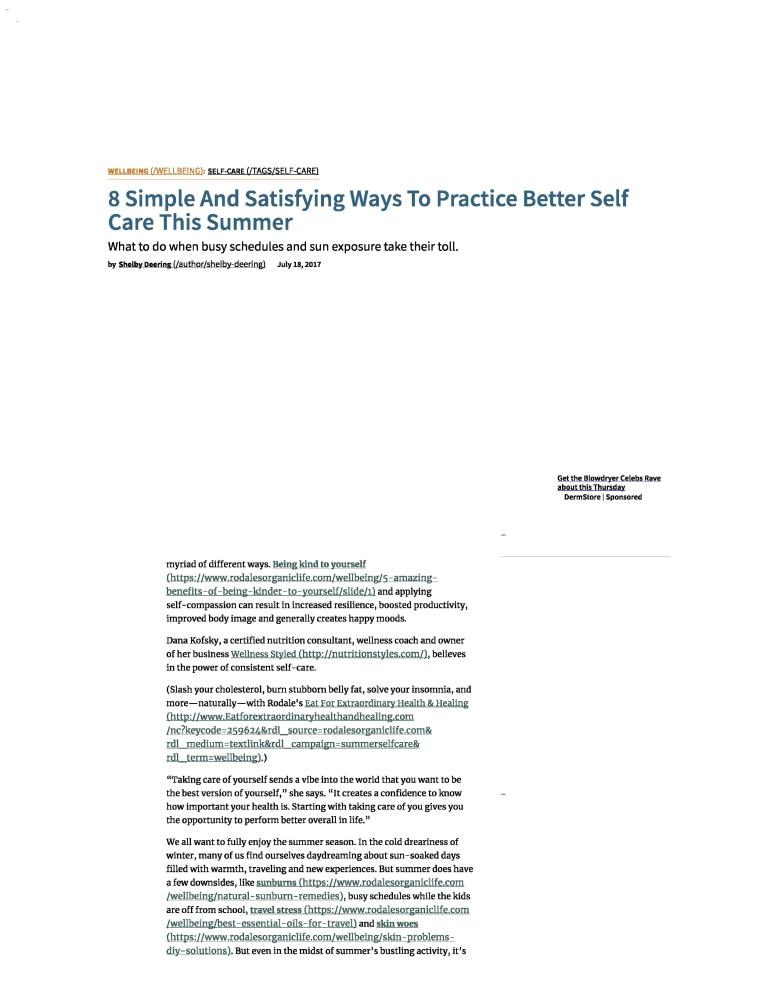 8 Simple And Satisfying Ways To Practice Better Self Care This Summer full-page-001